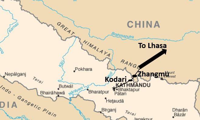 Nepal China Road
