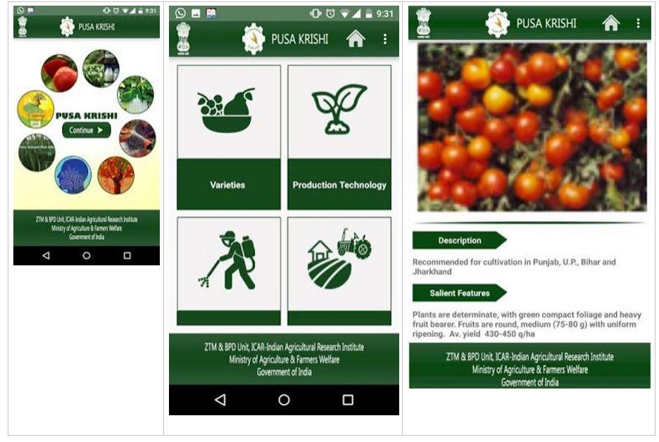 PUSA Krishi App