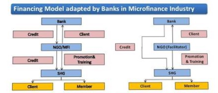 Financing Model adapted by Banks in Microfinance Industry