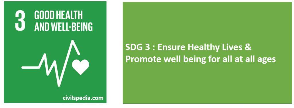 SDG 3 and Health