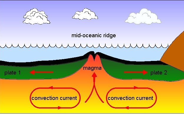 Mid Oceanic Ridge