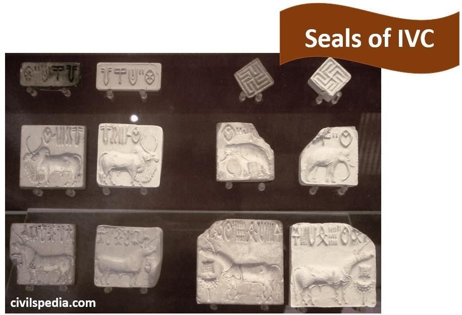 Seals of Harappan Civilsation