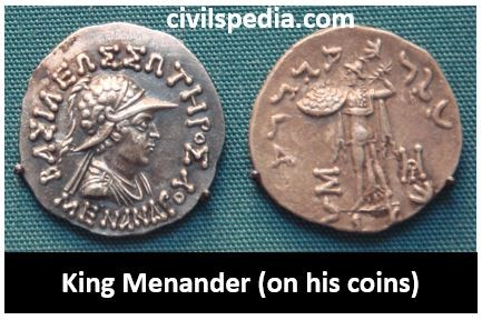 Coins of King Menander